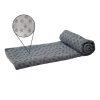 Tunturi Silicone Yoga handdoek met anti slip - met draagtas - (Grijs)