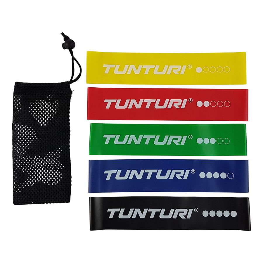 Tunturi Weerstandsbanden Set - Fitness elastiek - 5 stuks