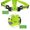 Tunturi X-shape Hardloop verlichting gordel - Running verlichting - Led