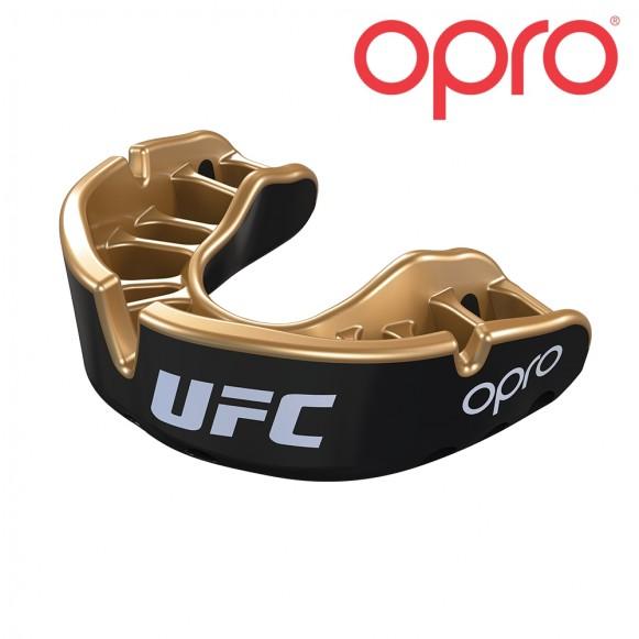 UFC OPRO Goud JR Zwart Metal/Goud