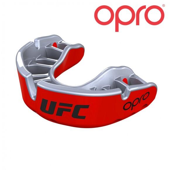 UFC OPRO Goud JR Rood Metal/Zilver