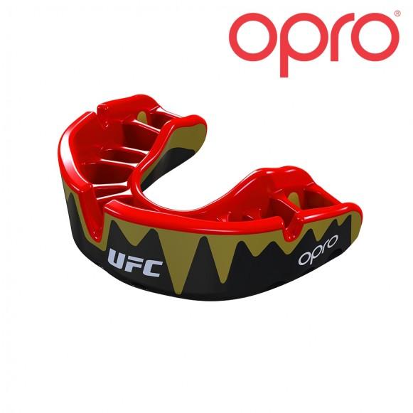 UFC OPRO Platinum Zwart Metal/Rood