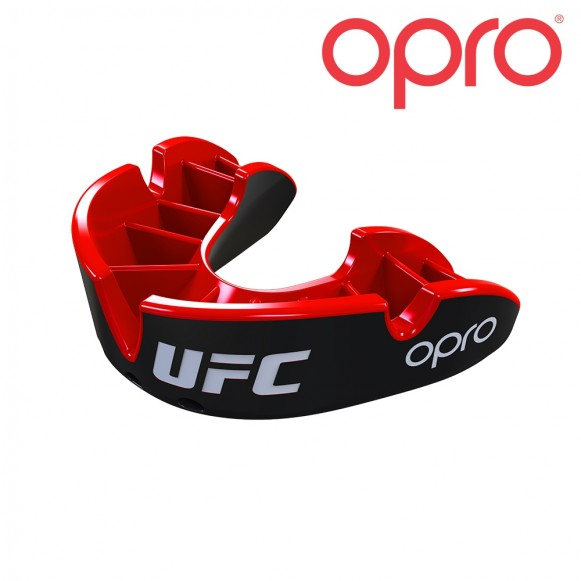 UFC OPRO Zilver Zwart/Rood