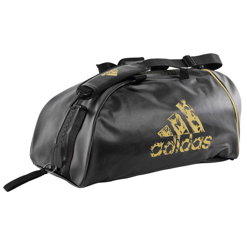 adidas Super Sporttas Zwart/Goud Large