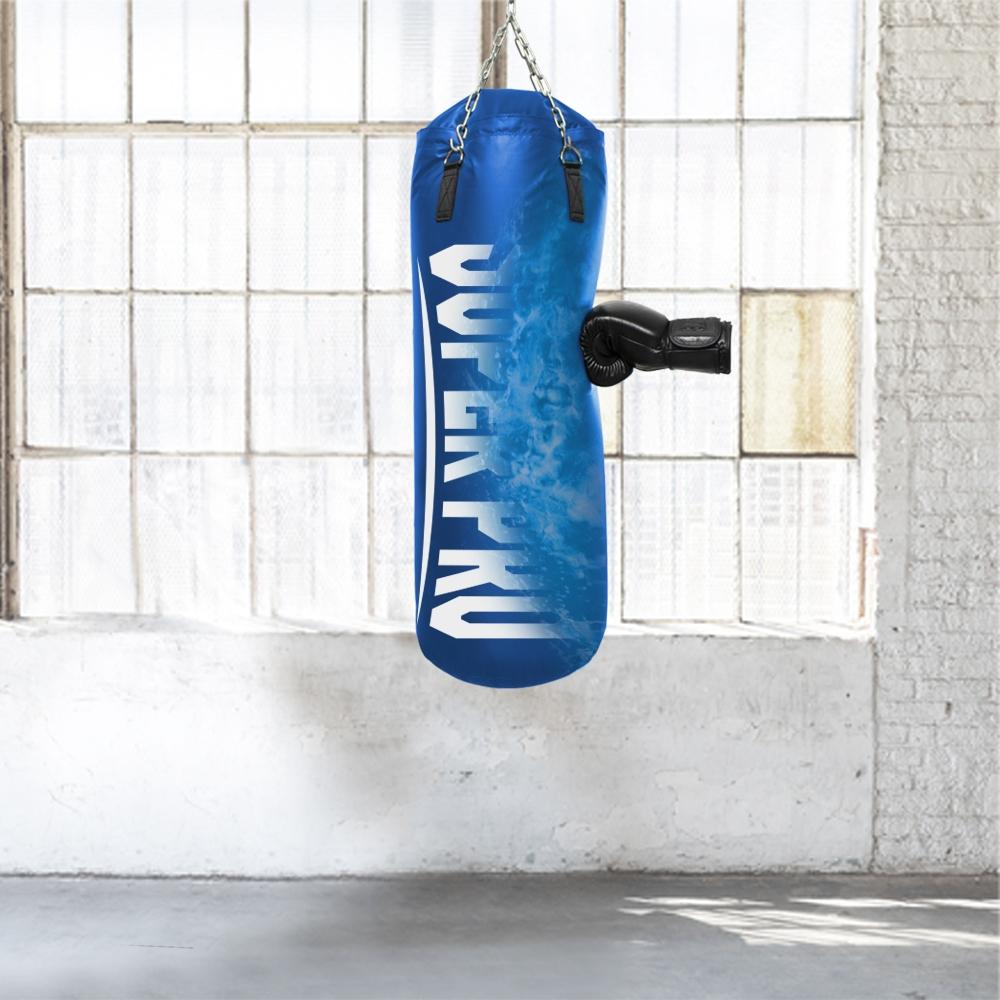 Super Pro Water-Air Punchbag  blauw