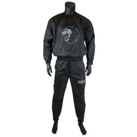 Super Pro Combat Gear Zweetpak/ Sweat Suit Zwart/Wit Small