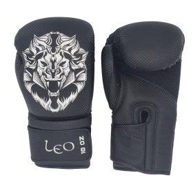 Leo Carbon Gloves - Black/White