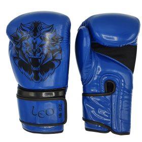 Leo Osaka Gloves - Blue
