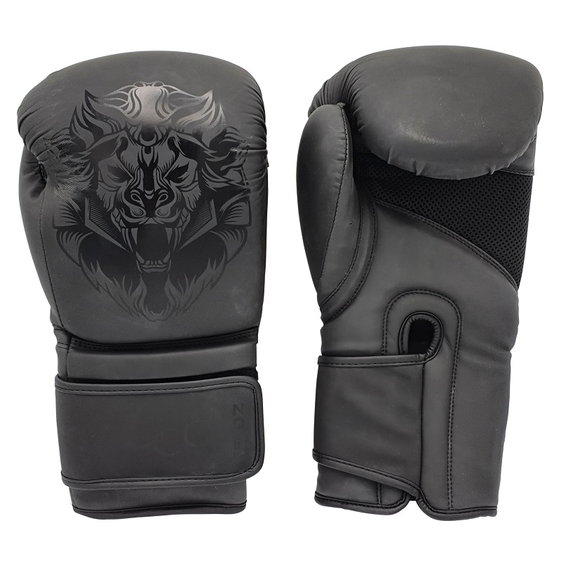 Leo Osaka Gloves - Matt Black