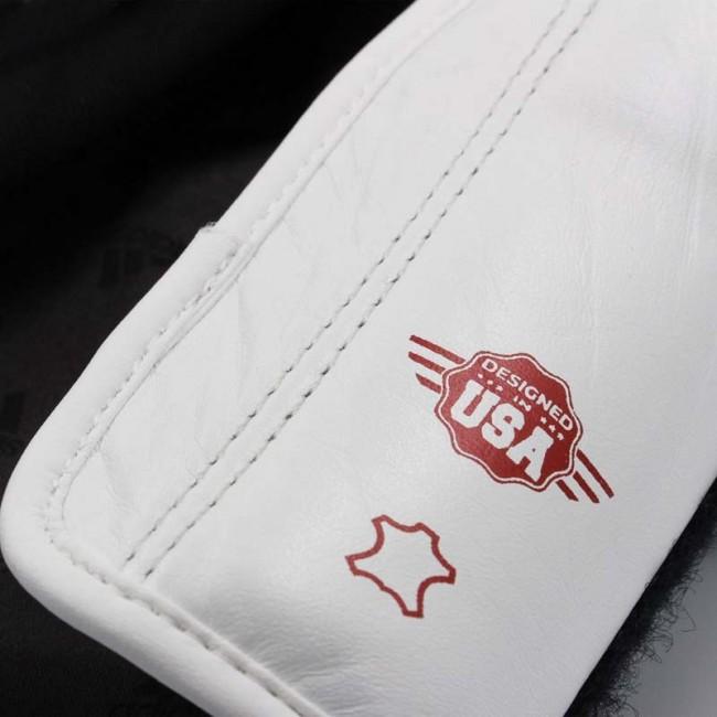 adidas Bokshandschoenen adiSPEED Strap-Up Wit/Rood/Blauw