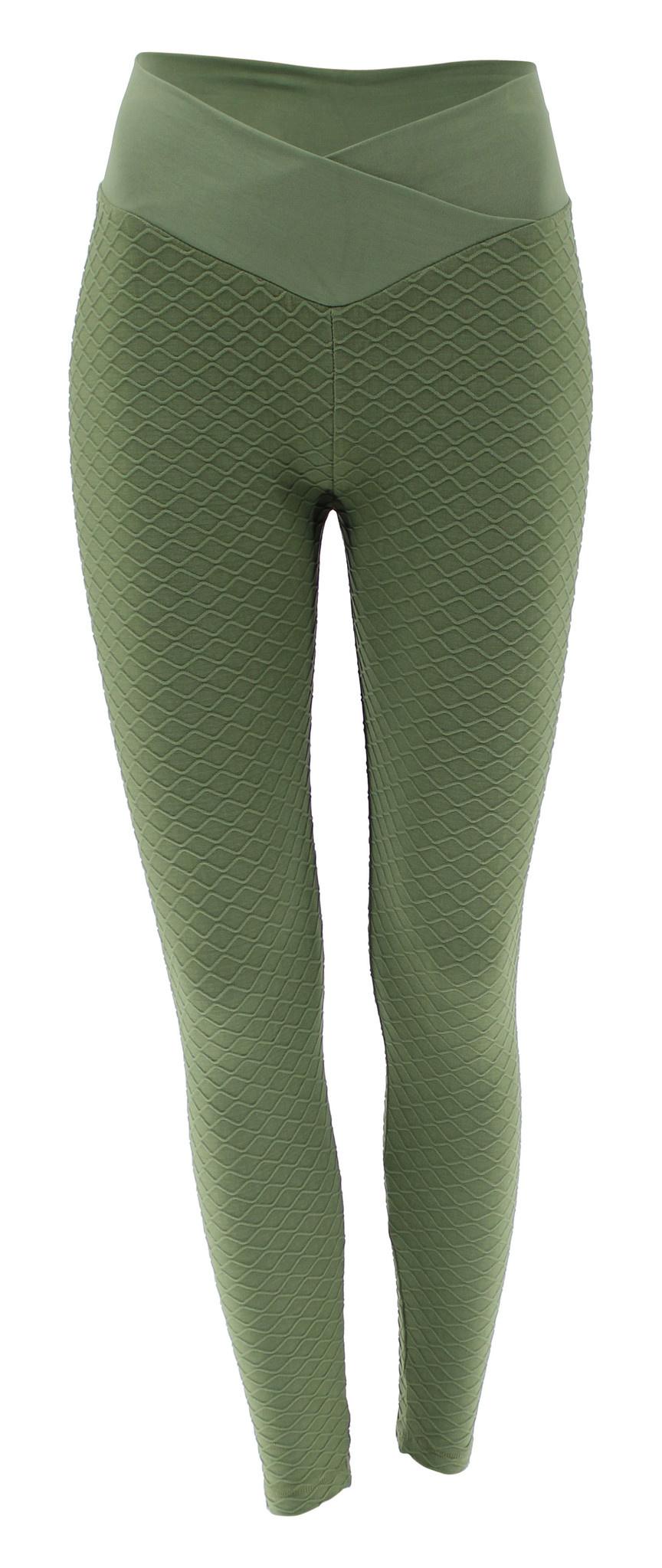 Sport Legging Embossed Green