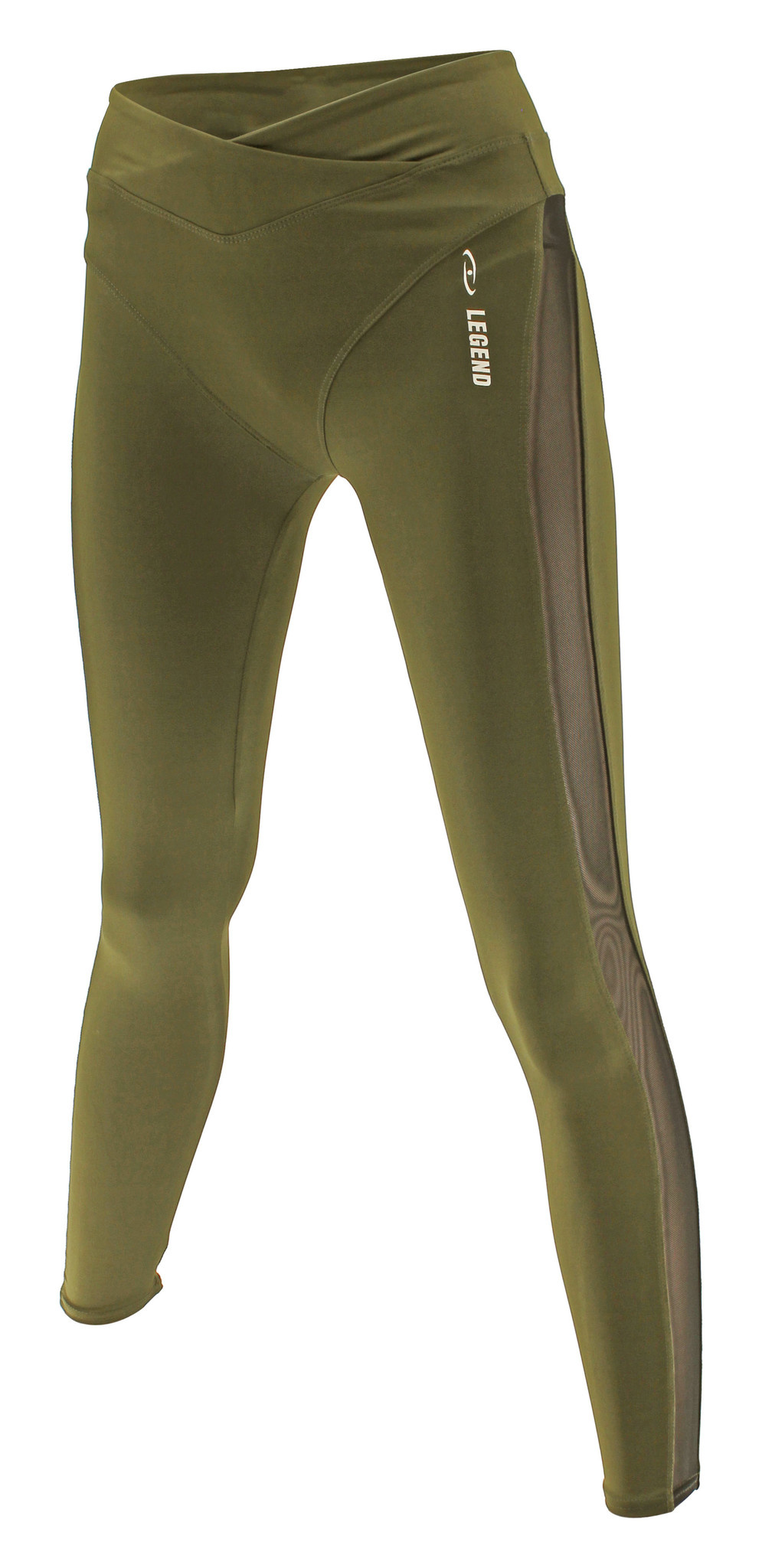 PRO Quality DRY-FIT  Sport Legging Army Green