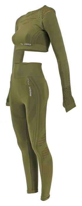 Sport Top & Sport Legging Army Green