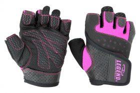 Dames Fitness Handschoenen Leder Special Edition Pink