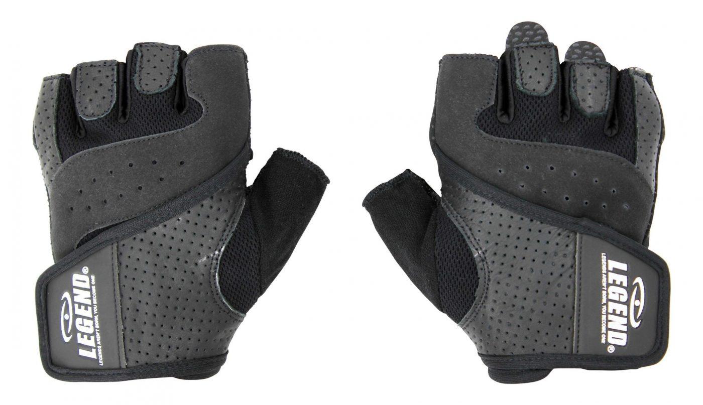 Legend Fitness Handschoenen Leder Special Edition Black