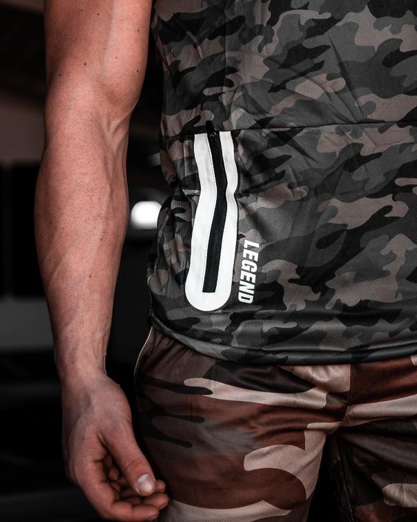 Legend Sport hemd Army Green