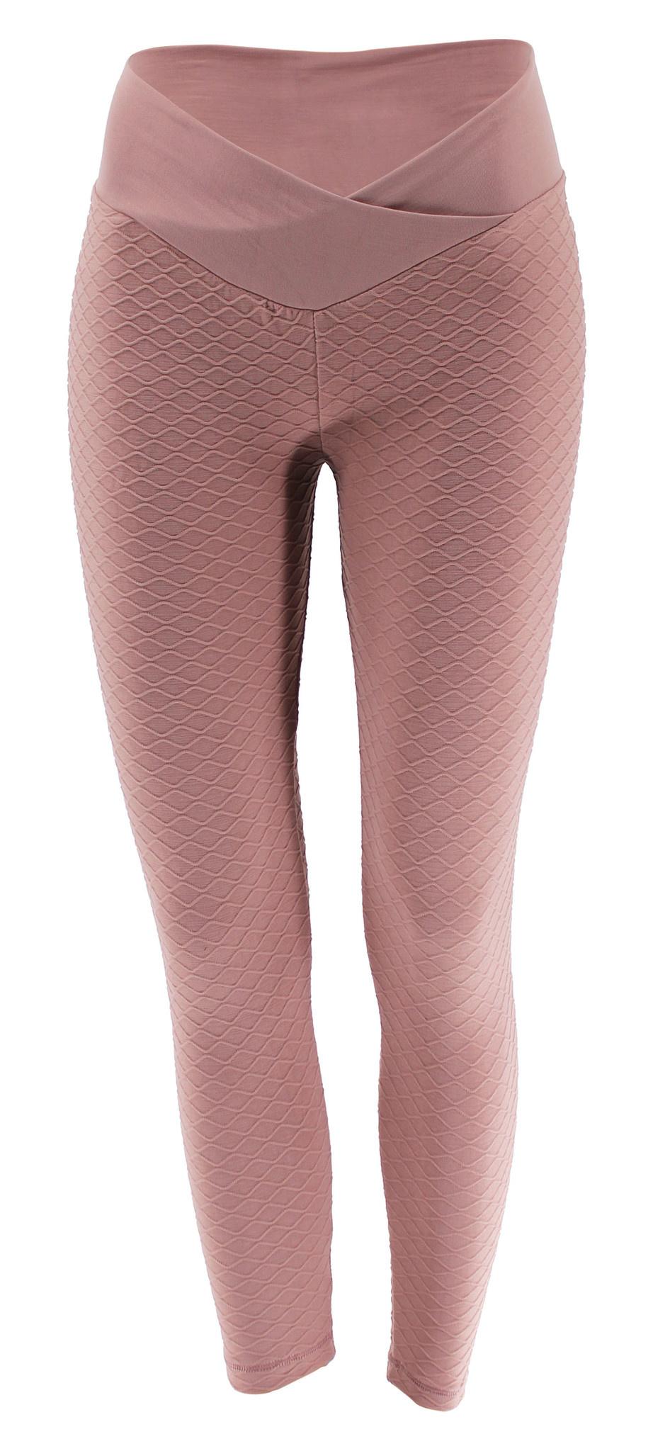 Sport Legging Embossed Pink