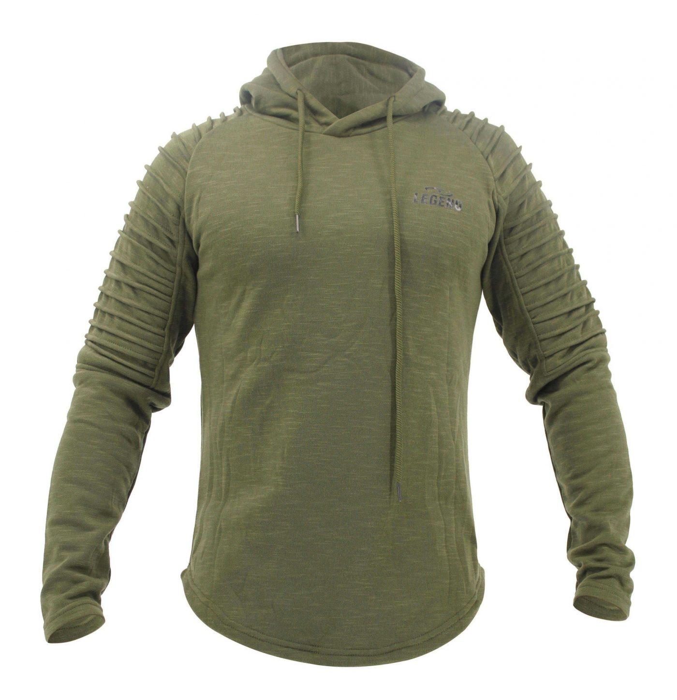 Hoodie Rib Sleeve Green