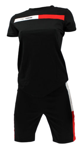 Allround Dames Sport-Outfit Black