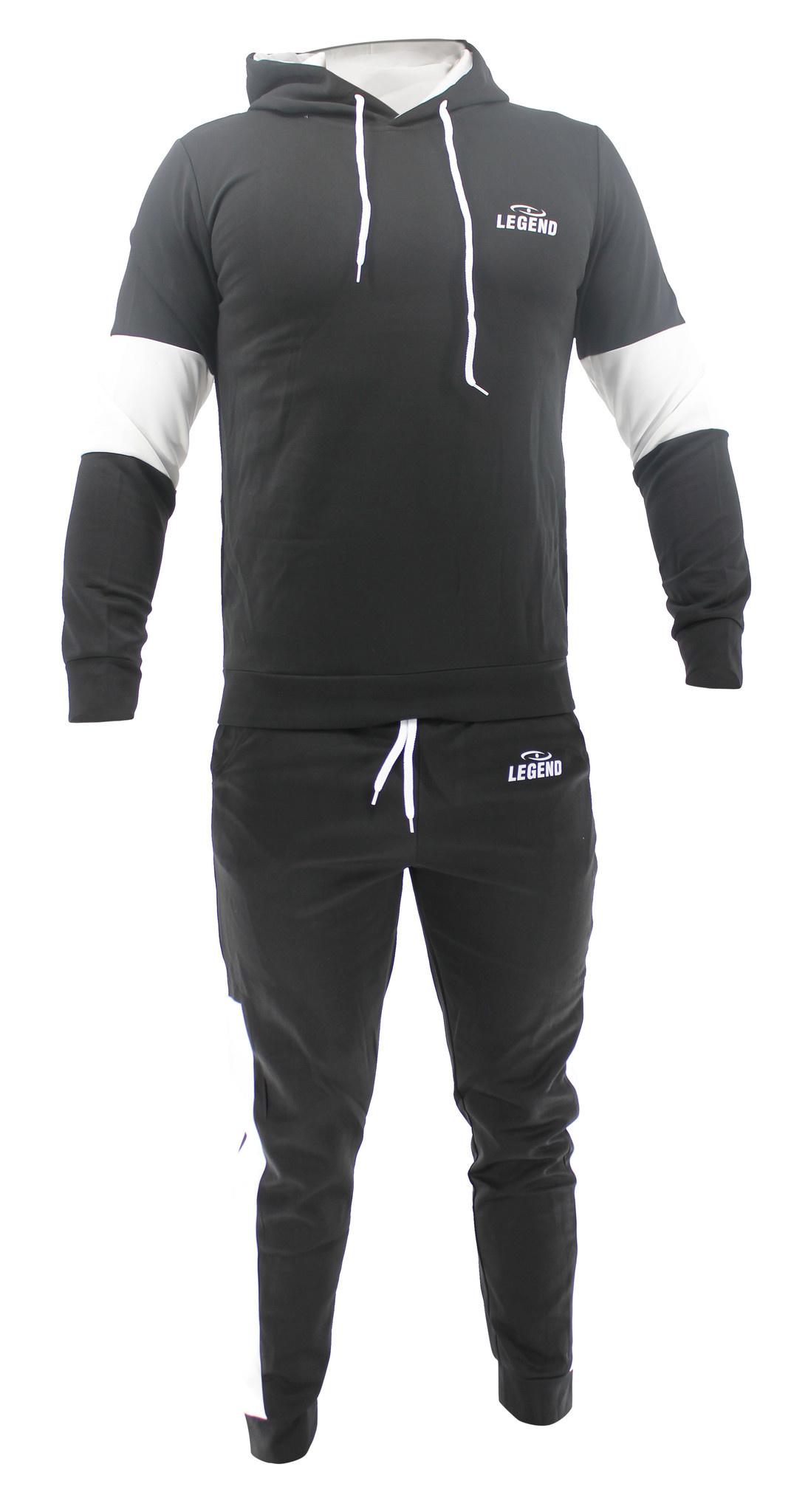 Functioneel Joggingpak Black & White