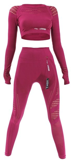 Sport Top & Sport Legging Raspberry