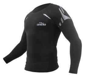 Multi Sport Shirt met Reflect Print Black