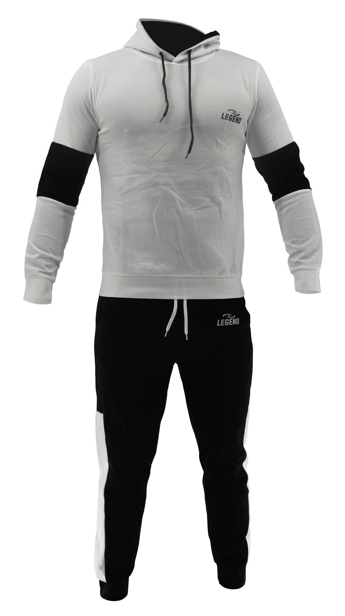 Functioneel Joggingpak White & Black