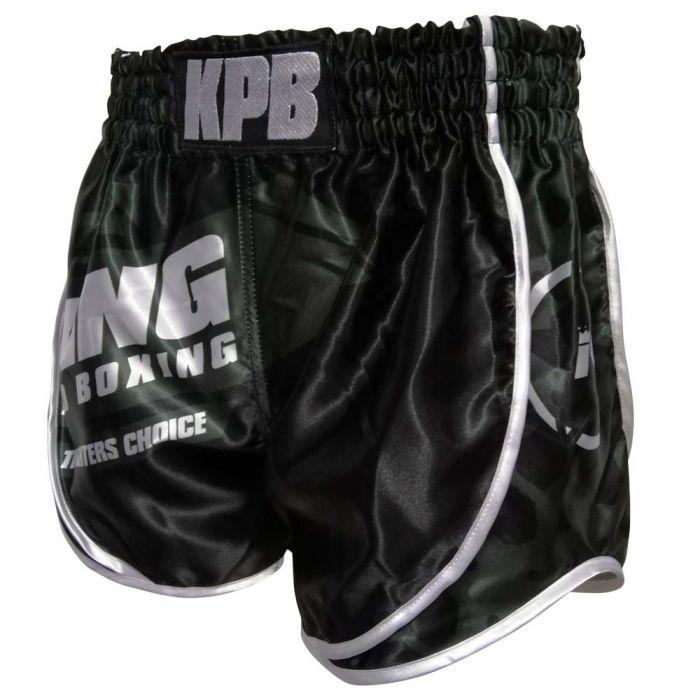 King Pro Boxing (kick)boksbroekje Star Vintage Kaki