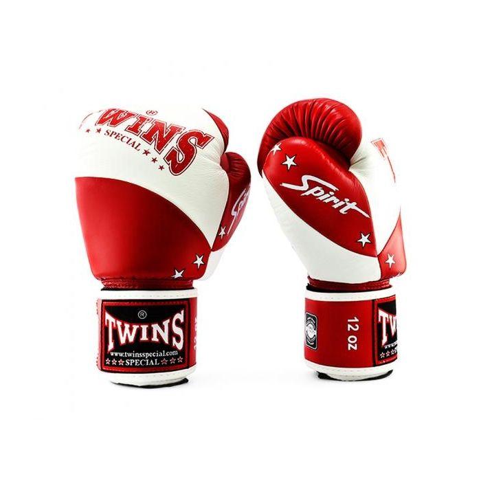 Twins kickbokshandschoenen BGVL 10 White/Red
