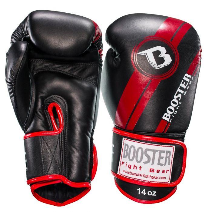 Booster kickbokshandschoenen BGL 1 V3 BLACK/RED FOIL
