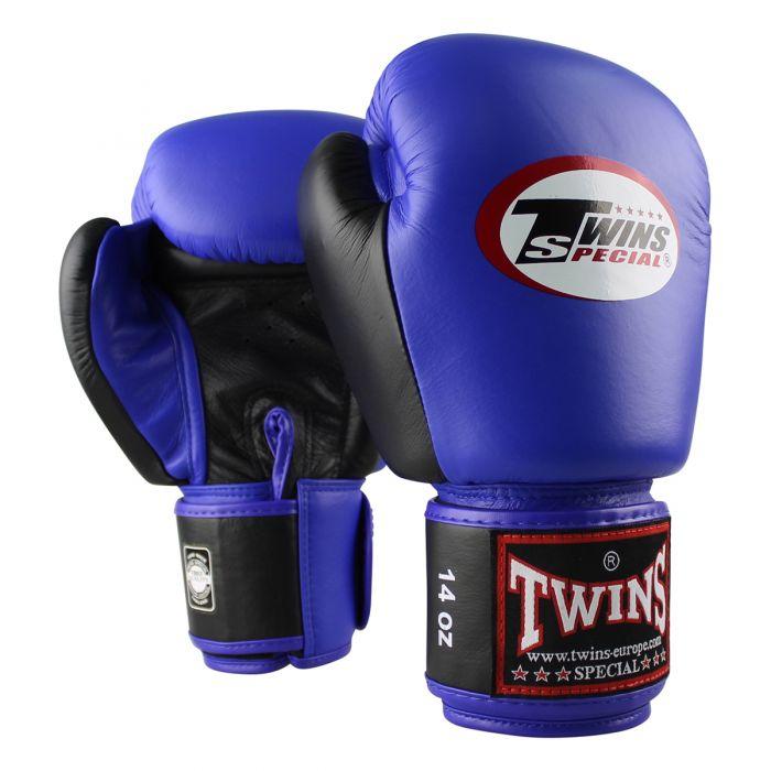 Twins kickbokshandschoenen BGVL 3 Retro blue/black