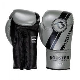 Booster kickbokshandschoenen BGL V3 NEW BK/GY LACED