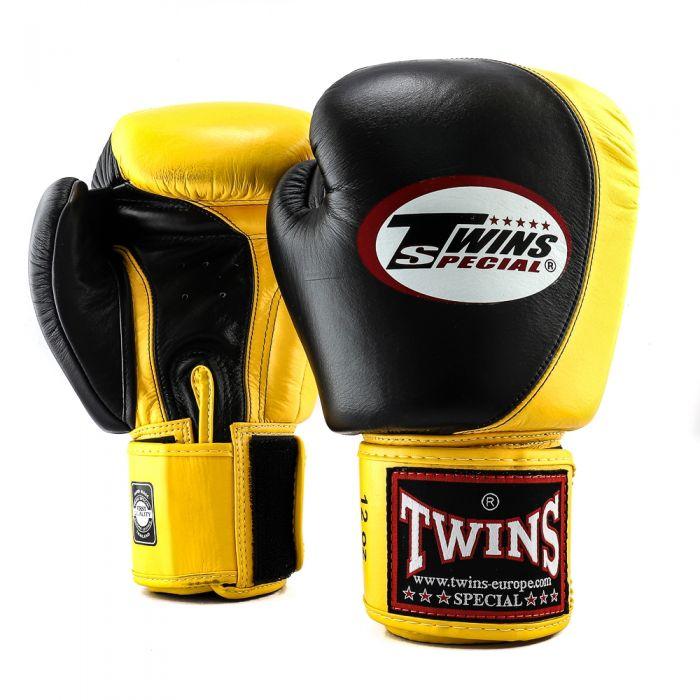Twins kickbokshandschoenen BGVL 9 Black/Yellow