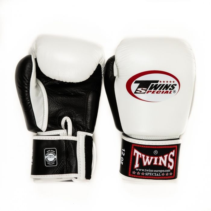 Twins kickbokshandschoenen BGVL 3 White/Black