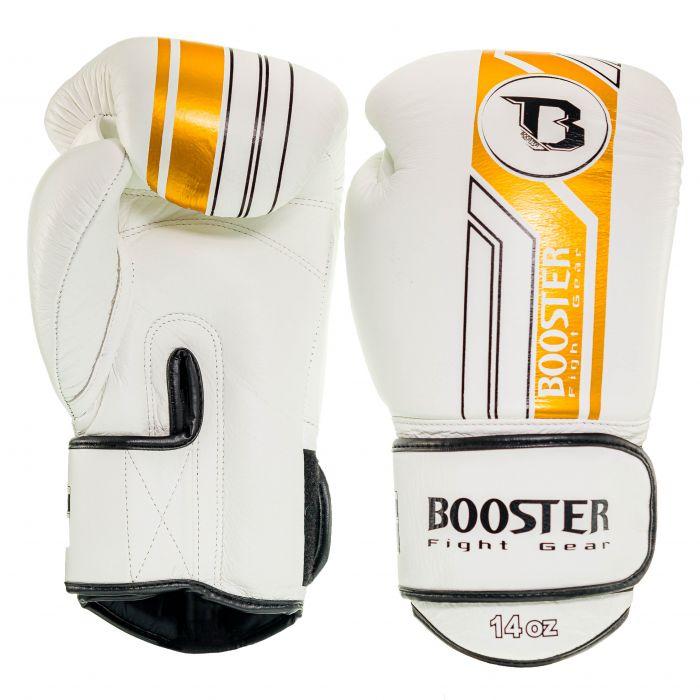 Booster kickbokshandschoenen BGL V9 WHITE/GOLD