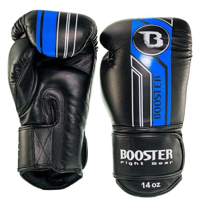 Booster kickbokshandschoenen BGL V9 BLACK/BLUE