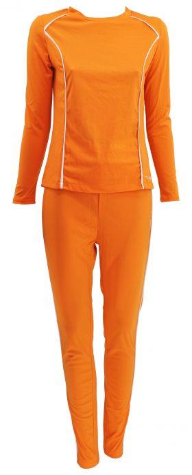 DRY-FIT Dames Sweatsuit  Oranje