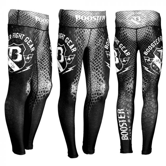 Booster hybrid lange sportbroek Amazon spats Black