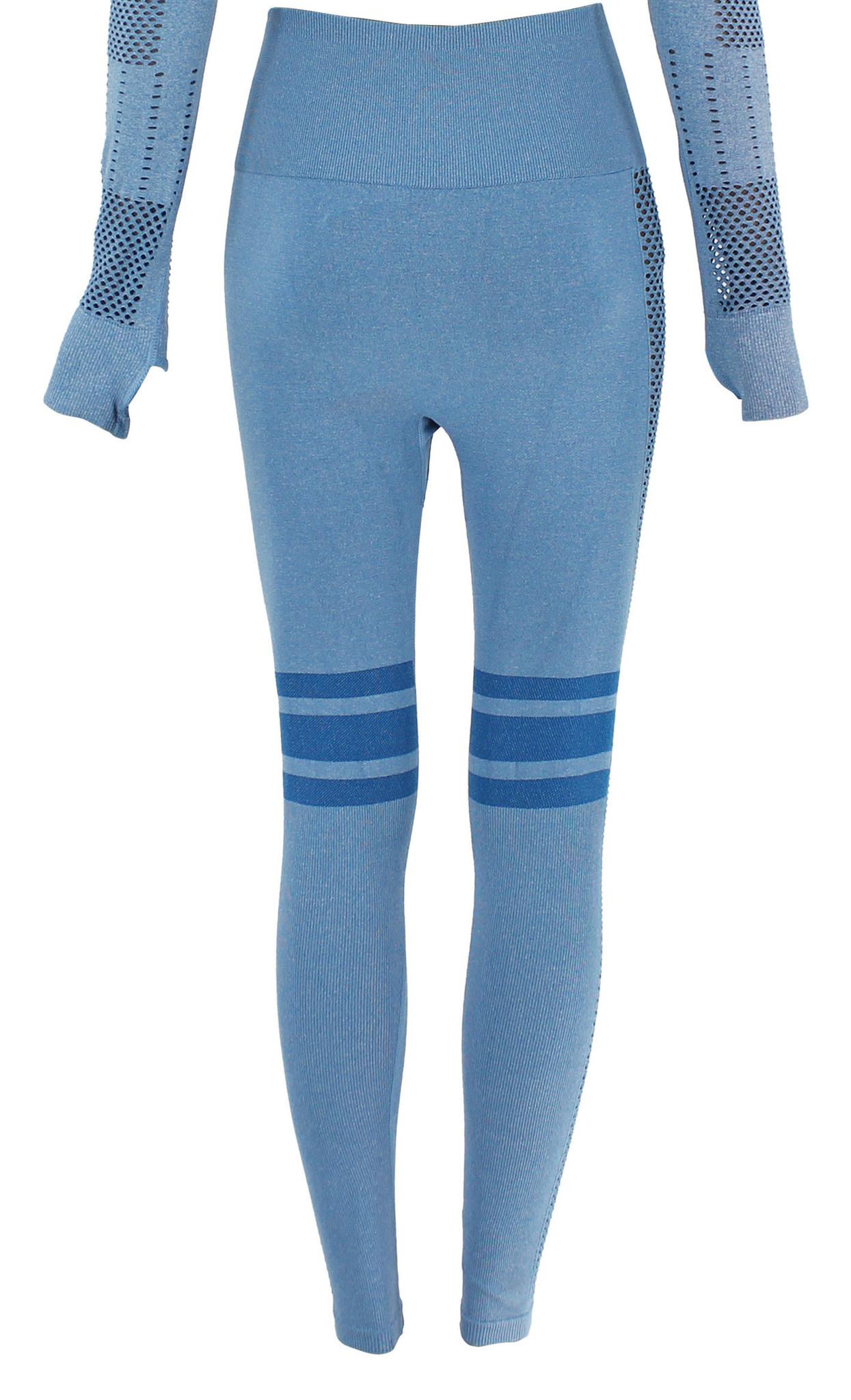 Sportlegging Blue stripes