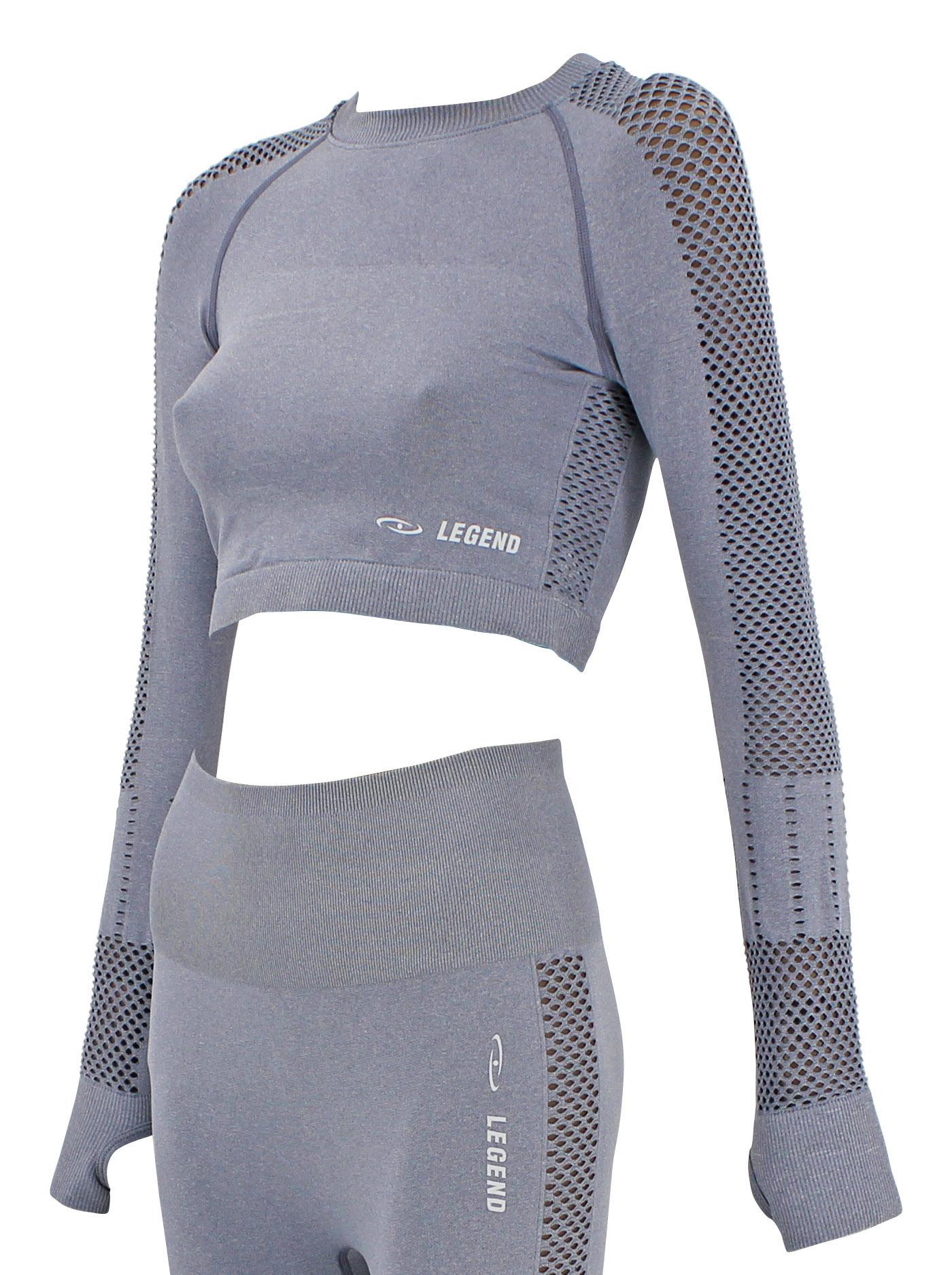 Dames Sport-Top Gray