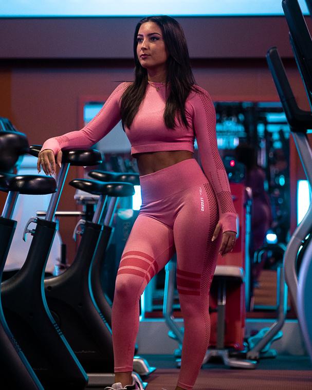Sportlegging Pink