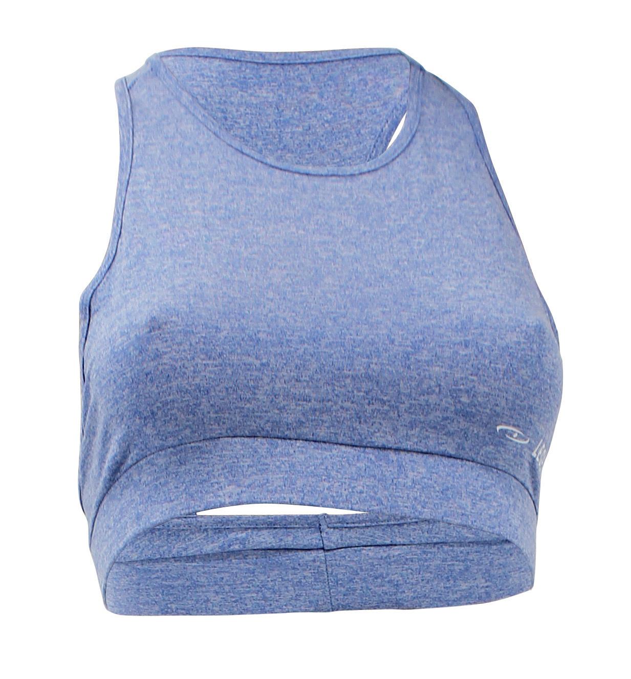 Dames Sport-BH Mesh Blue