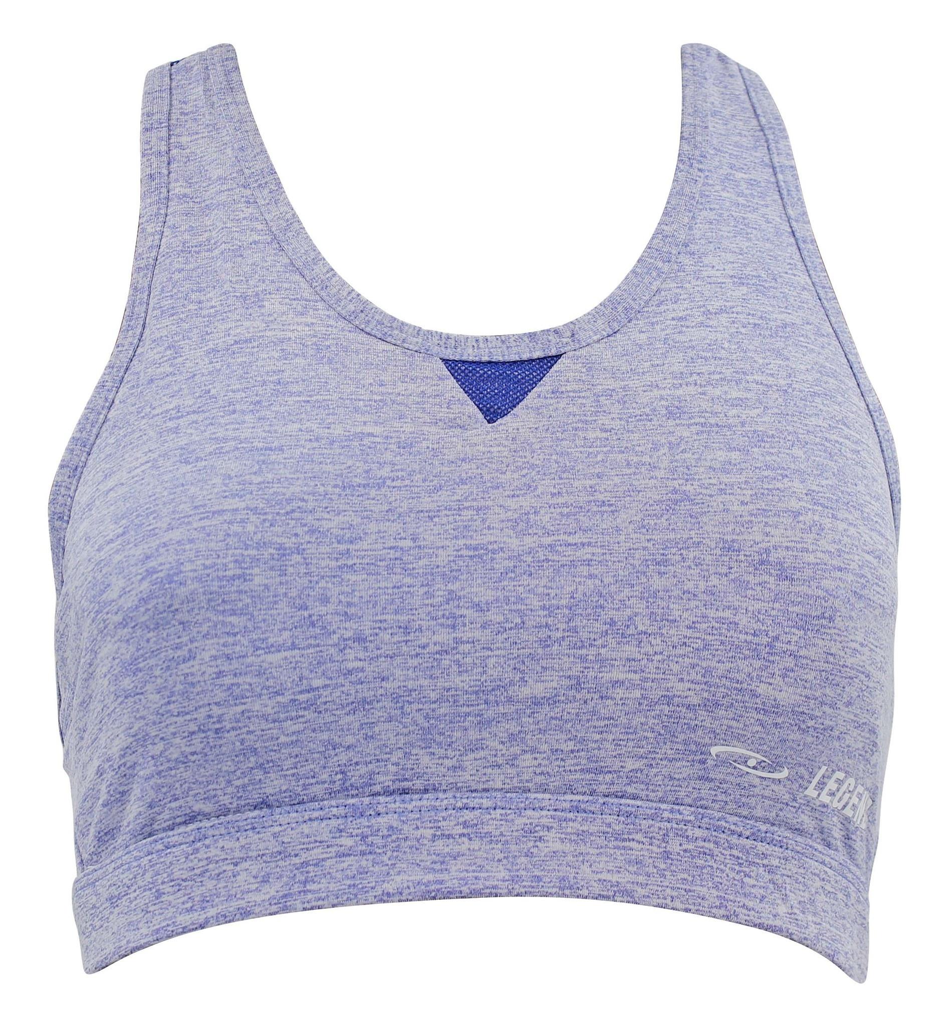 Dames Sport-BH Melange Blue
