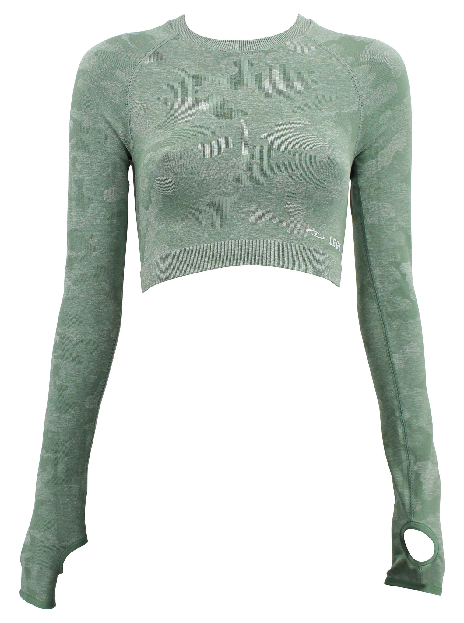 Dames Sport-Top Army Green