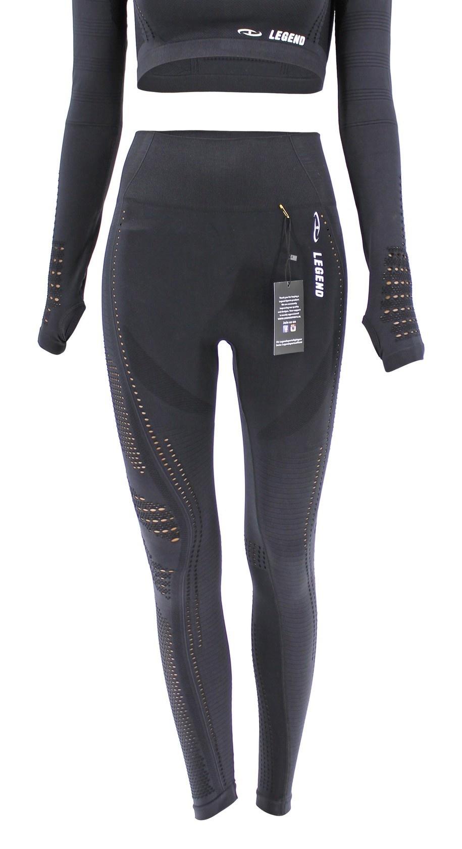 Sport Legging Black mesh Pro