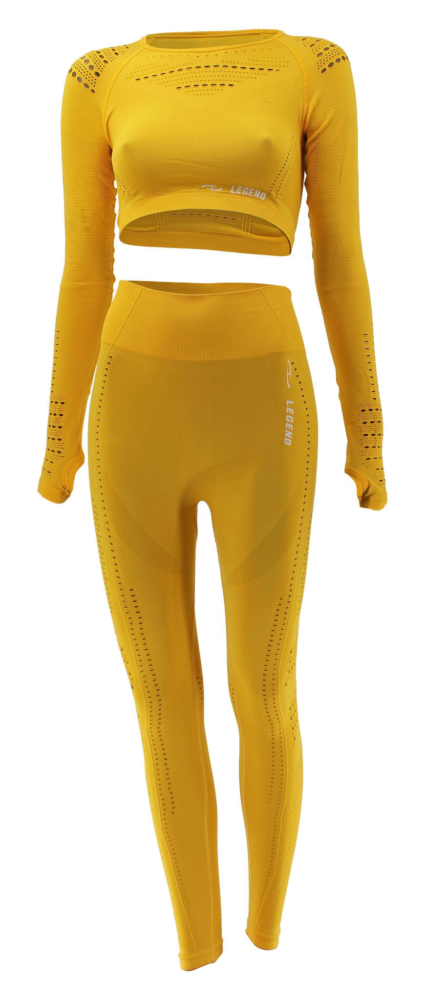 Sport Legging geel