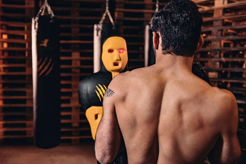 Bruce Lee Slam Man- Boksdummy