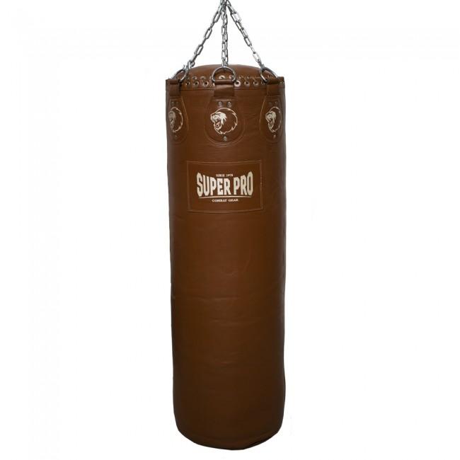 Super Pro Leather Punch Bag Gigantor Classic Bruin 138x42