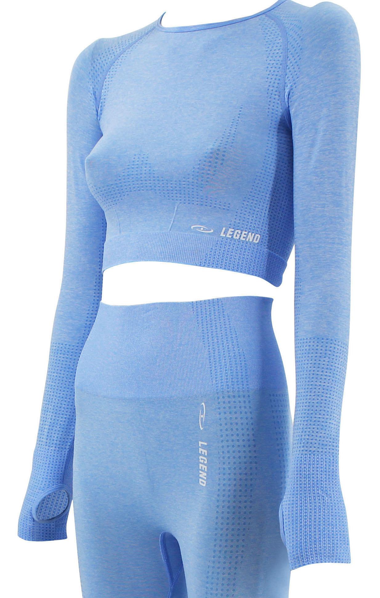 Dames Sport-Top Baby Blue