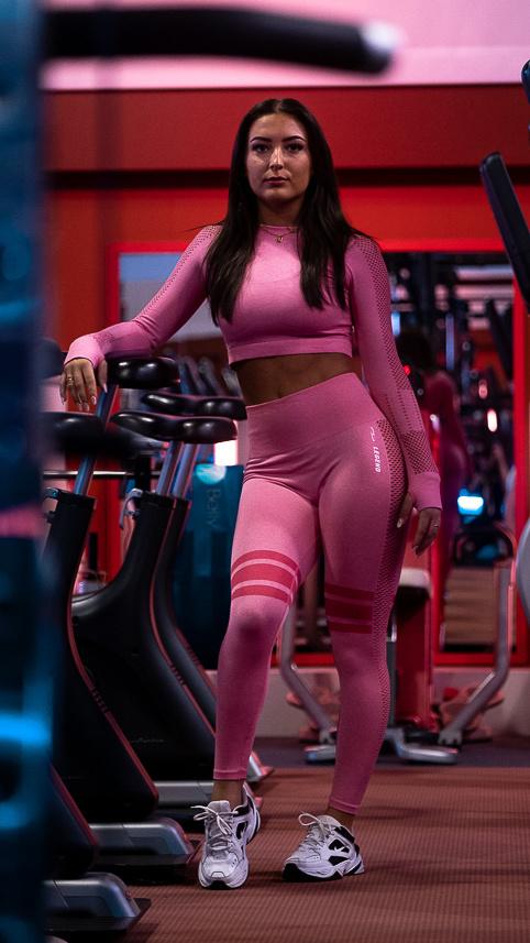 Dames Sport-Top Pink